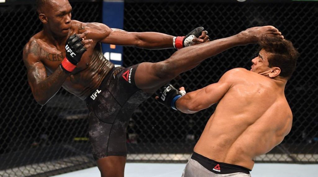 Israel Adesanya vs Paulo Costa