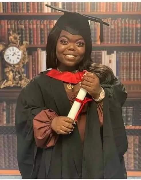 Fatima Timbo First Class graduate