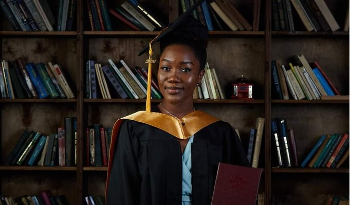 Ogechukwu Ozoani graduates with a first class degree from a Russian University