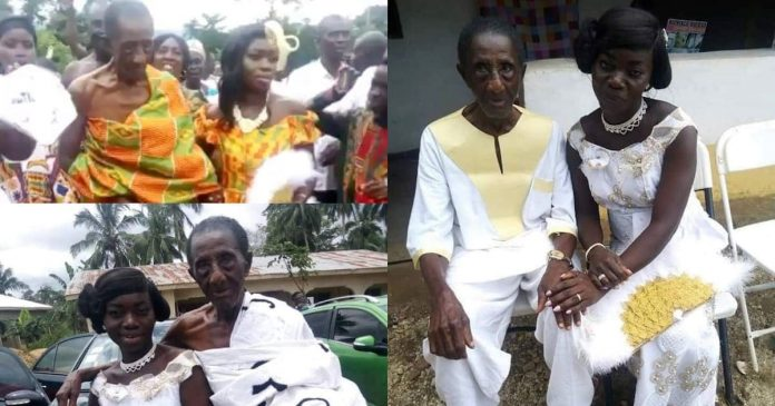 41-year-old man celebrates after 106-year-old dad marries woman aged 35