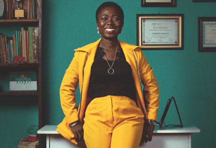 Seun ogunleye CEO Baby Grubz Nigeria