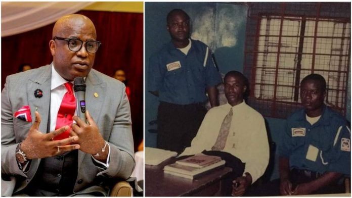 Ubong said he worked hard on himself to succeed in life. Photos sources: Instagram