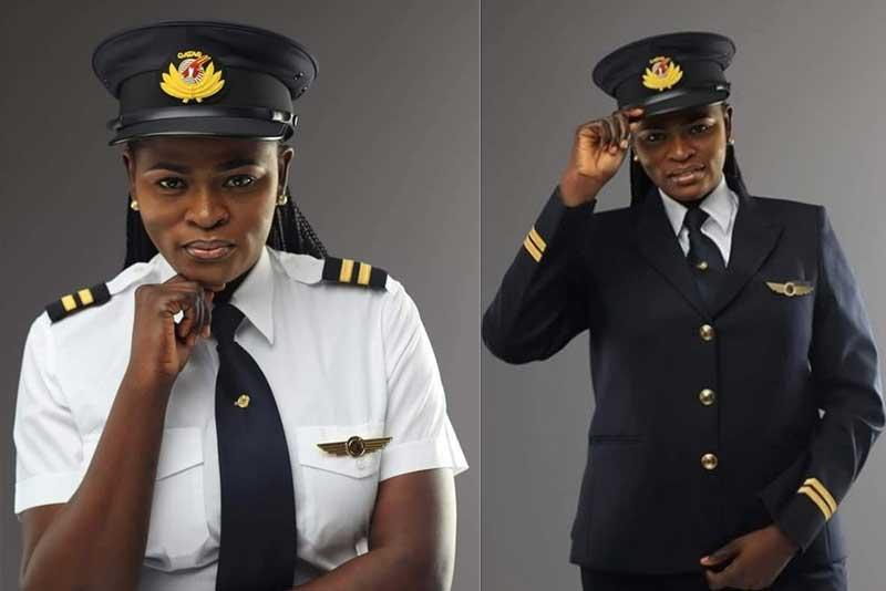 Meet first Nigerian Female Pilot with Qatar Airways, Mrs Adeola Ogunmola Sowemimo flying the Dreamliner Boeing 787.