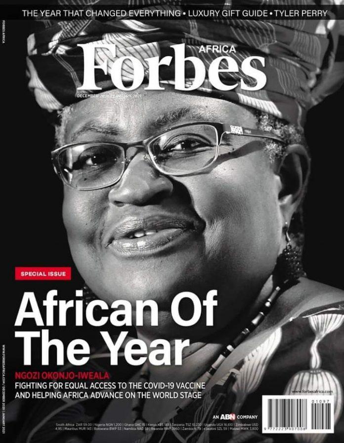 Ngozi Okonjo Iweala wins african of the year