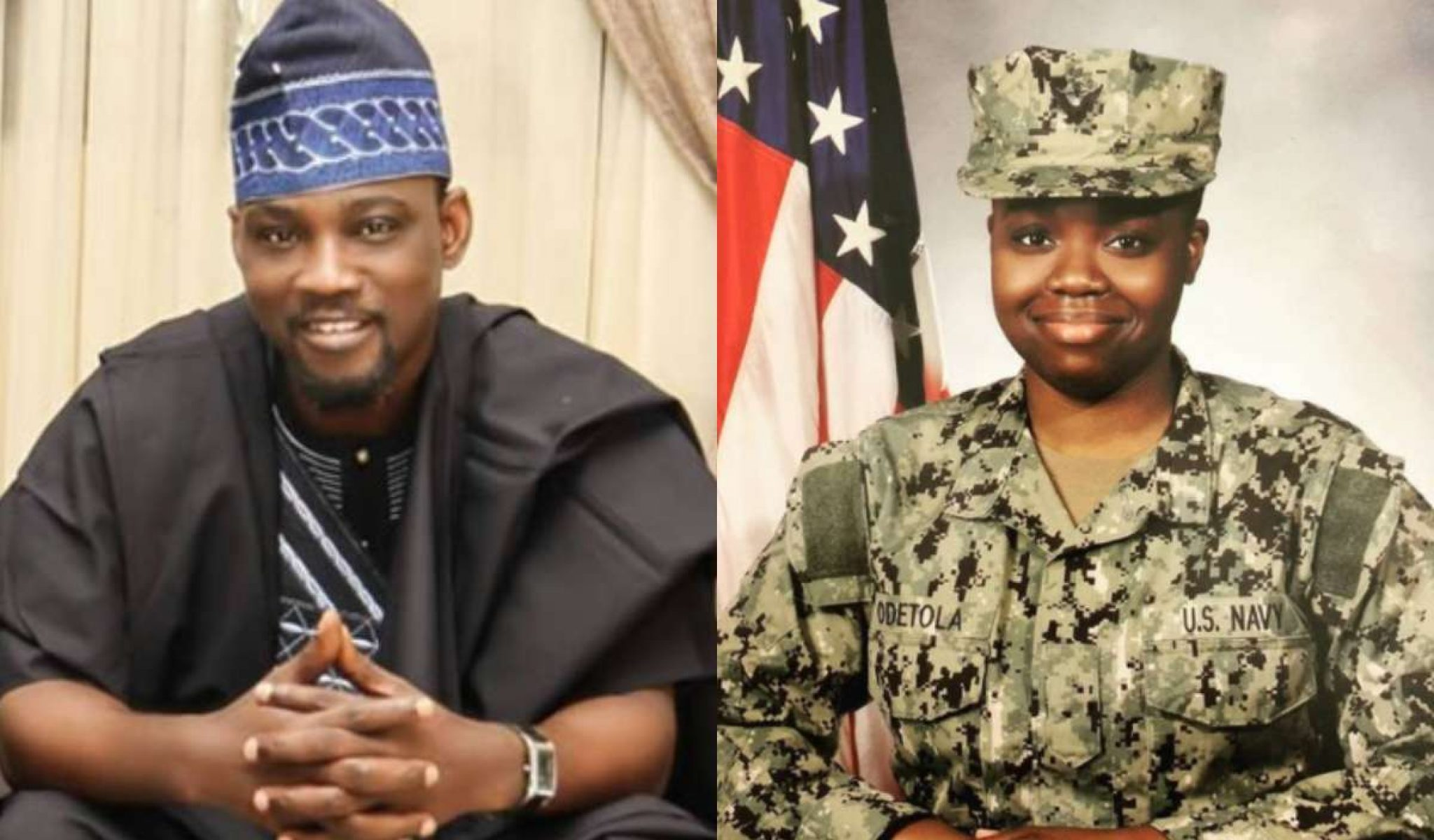 Pasuma's Daughter Now in US Navy